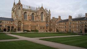 Oxfordská univerzita – ilustrační foto