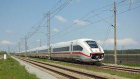 Vysokorychlostní jednotka Deutsche Bahn ICx od Siemensu