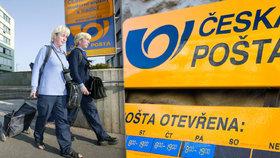 Počet zásilek klesá, reklamace rostou. Zn. Česká pošta