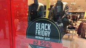 Black Friday v Česku
