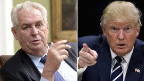 Nový americký prezident Donald Trump pozval do USA svého podporovatele Viktora Orbána, několik dní na to i Miloše Zemana.