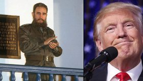 """""""Castro byl brutální diktátor, který utlačoval vlastní lid,"""" míní Trump."""