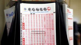 Tikety loterie Powerball