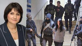 Europoslankyně Michaela Šojdrová (KDU-ČS) vyzývá k propuštění Čechů vězněných v Turecku.