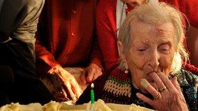 Zemřela Italka Emma Morano, nejstarší člověk na světě
