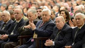 Palestinský lídr Mahmúd Abbás