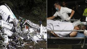 Tragický pád letadla v Kolumbii ONLINE: Pilot za letu vypustil palivo