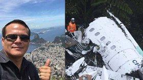Pilot letadla smrti měl být v kriminále! Vysekal ho z toho právník