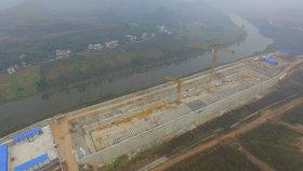 Stavba repliky Titanicu v Číně