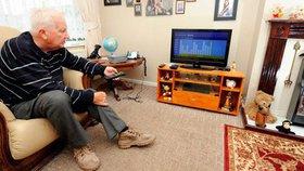 Sledování televize není škodlivé, pokud netrvá moc dlouho (ilustrační foto)