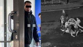 Jaroslav J. (21) musel policii vysvětlovat, proč tak brutálně útočil.
