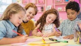 V Praze se nejspíš v květnu otevřou všechny mateřské školy provozované městskými částmi. (ilustrační foto)
