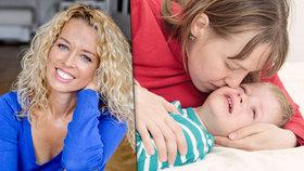 """Lucie Königová vysvětlila, jak své dítě """"nesežrat"""" láskou."""