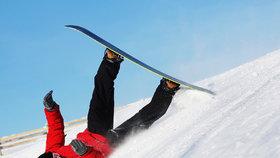 Zimní radovánky se mohou prodražit, pokud nemáte uzavřenou správnou pojistku.