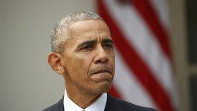 Odstupující americký prezident Barack Obama