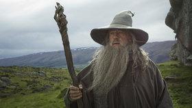 Gandalf v podání Iana McKellena. Předobrazem moudrého čaroděje měl být podle polského historika mytický Krakonoš.