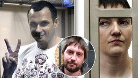 Ruský novinář Anton Naumljuk o procesech s N. Savčenkovou a O. Sencovem: Demonstrativní příklady. Normálně najdete jen zavřené dveře a informací se nedopídíte.