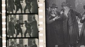Chybějící záběry filmu z roku 1924 byly objeveny na bleším trhu: Snímek předvídá antisemitismus v Evropě.