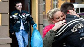 Lukáš Nečesaný byl opět propuštěn z vězení! Výkon trestu mu byl přerušen do doby, než rozhodne Nejvyšší soud o jeho dovolání.