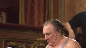 Gerard Depardieu hodně přibral.