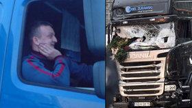 Polský řidič kamionu Lukáš Urban zabránil větší tragédii.