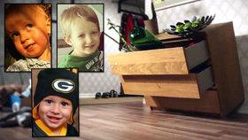 Tři děti našly smrt pod nábytkem z IKEA. Rodiny dostaly 1,3 miliardy koruny.