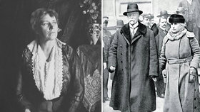 První poslankyně Božena Viková-Kunětická útočila na Masaryka i jeho ženu Charlotte.