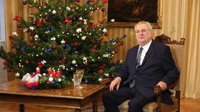 Zemanův vánoční projev 2016