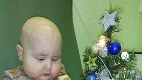 Dominik strávil Vánoce doma.
