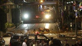 Zpráva, na kterou Facebook odkazoval, byla rok stará. Tehdy při výbuchu bomby v Bangkoku zemřelo 19 lidí.
