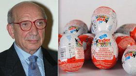 Zemřel William Salice, vynálezce kinder vajíček.