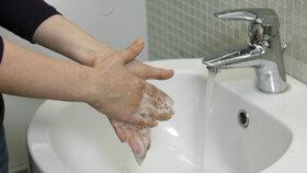 Při chřipce je důležitá hygiena.