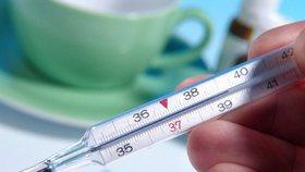Vysoká teplota je nebezpečná.