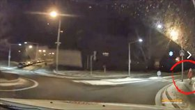 Holčička běhala o půlnoci sama v mrazu po Novém Jičíně.