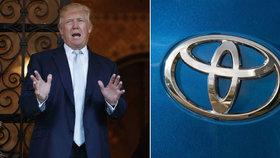 Trump pohrozil vysokými cly na dovoz aut z Mexika. PO GM se opřel i do Toyoty.