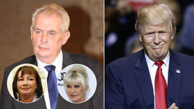 Zeman u Trumpa: Dostane do Prahy další Ivanu?