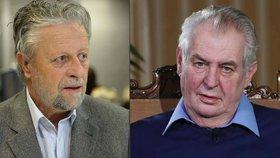Prezident Miloš Zeman odpovídal na dotaz senátora Františka Bublana.