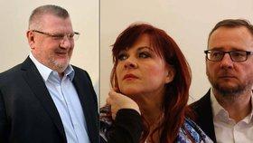 Ivo Rittig a Jana Nečasová dostali v kauze zprávy BIS podmíněné tresty.