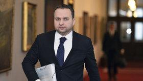 Ministr zemědělství Marian Jurečka ve středu nebyl na zasedání.