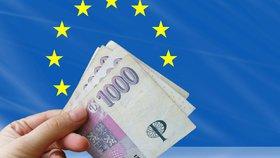 Česko od EU už tolik peněz nejspíš nedostane.