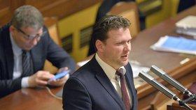 Radek Vondráček je novým místopředsedou Sněmovny.
