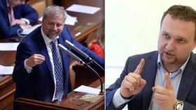 Exministr zemědělství Bendl šil ve Sněmovně do současného šéfa resortu Jurečky.