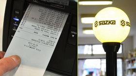 Euro.cz: Do tendru na účtenkovou loterii se přihlásila Sazka.