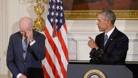 """Biden o chystaném udělení medaile nevěděl. """"Neměl jsem tušení,"""" řekl 74letý viceprezident. """"Dostalo se mi uznání, které si nezasloužím,"""" dodal v improvizovaném projevu."""