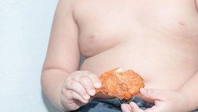 Zhruba každé čtvrté dítě v Česku má nadváhu a každé desáté už je obézní