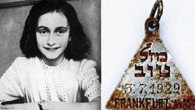 V troskách německého nacistického koncentráku na území okupovaného Polska našli přívěšek stejný, jaký měla Anna Franková.