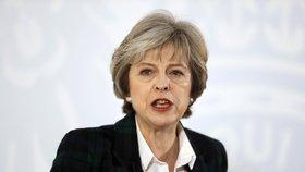 Theresa Mayová odmítá členství Británie v EU.