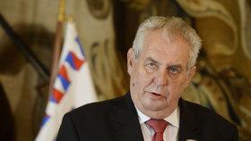 Miloš Zeman svému okolí údajně oznámil, že kandidovat na prezidenta podruhé bude.