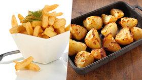 Pečené brambory nebo křupavé hranolky způsobují rakovinu.