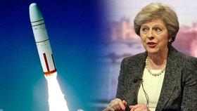 Theresa Mayová bude mít co vysvětlovat. O neúspěšném testu rakety totiž prý věděla.